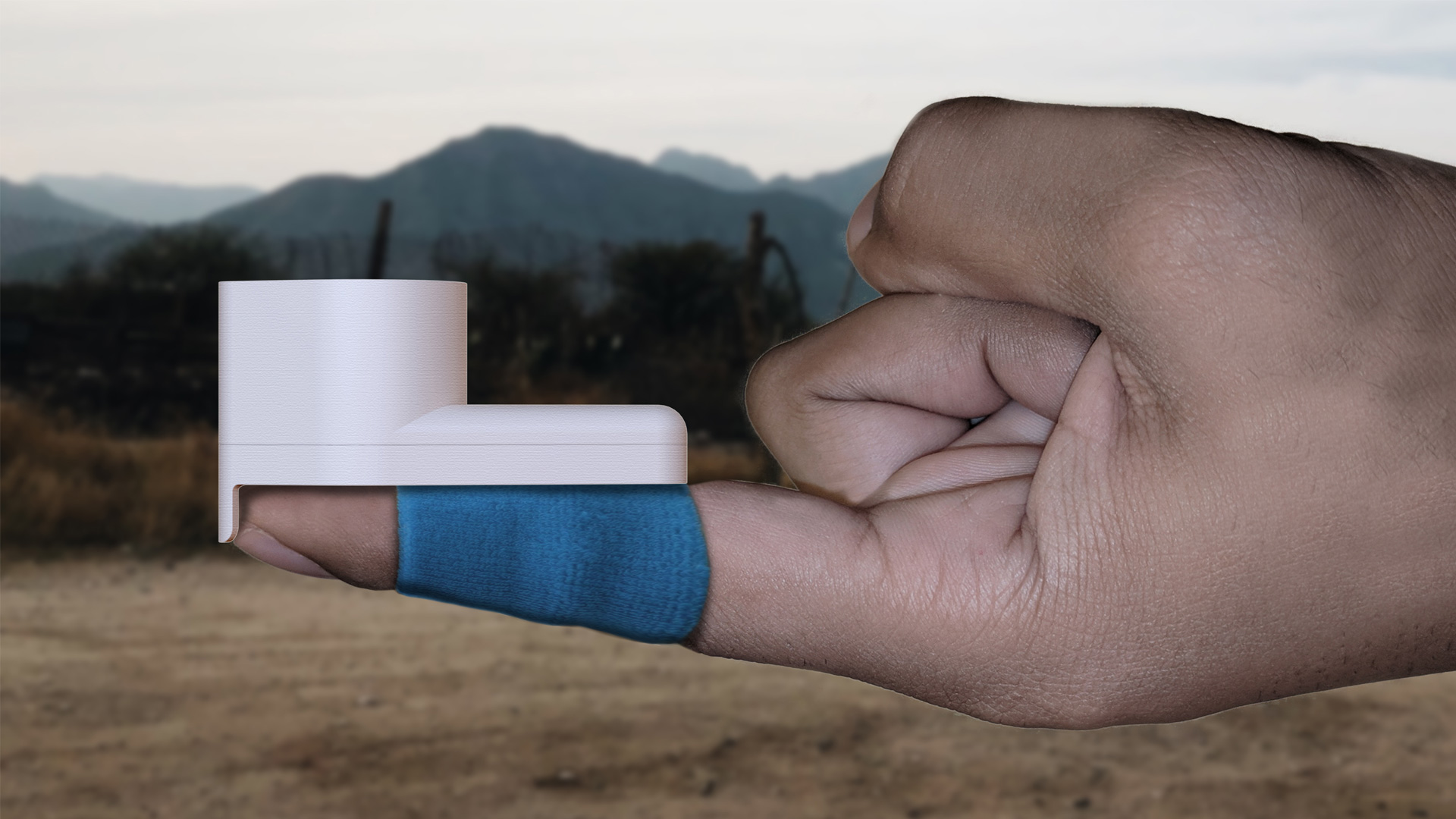 Finger wearing Catch HIV detector
