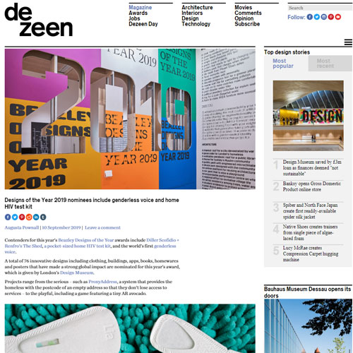 Catch Dezeen