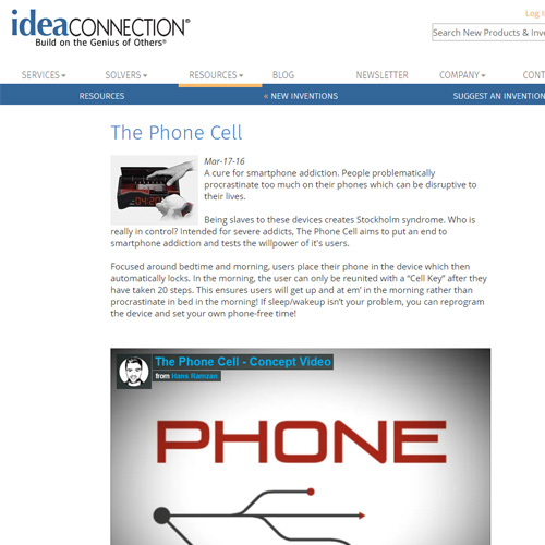 Phone Cell Idea Connection